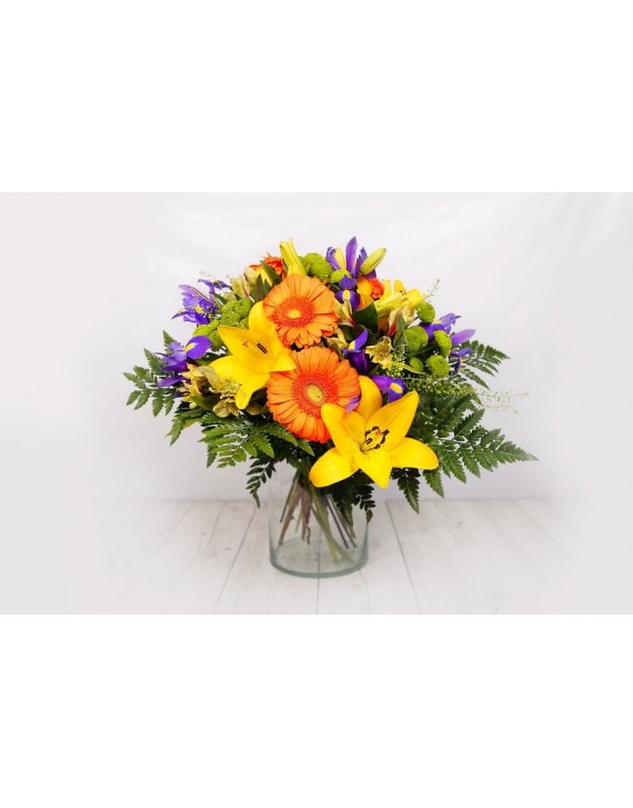 (R102) Bouquet of mixed colours