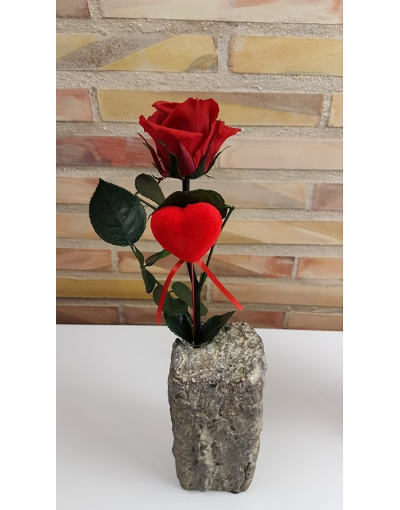 (VAL006) Everlasting Red Rose