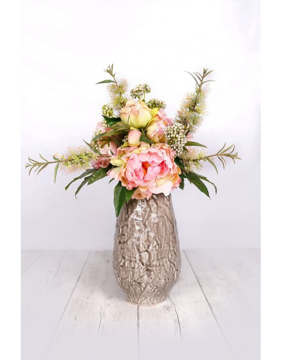 (AR103) Artificial Bouquet with vase
