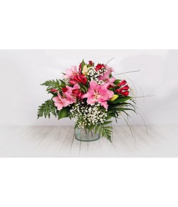 Bouquets lillium alstromelia