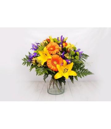Bouquet varied colours