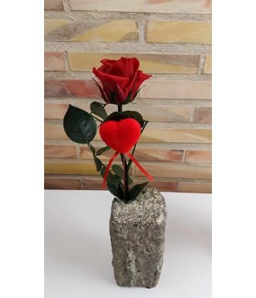 Everlasting Red Rose