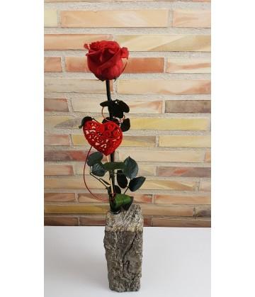 Large Everlasting Red Rose